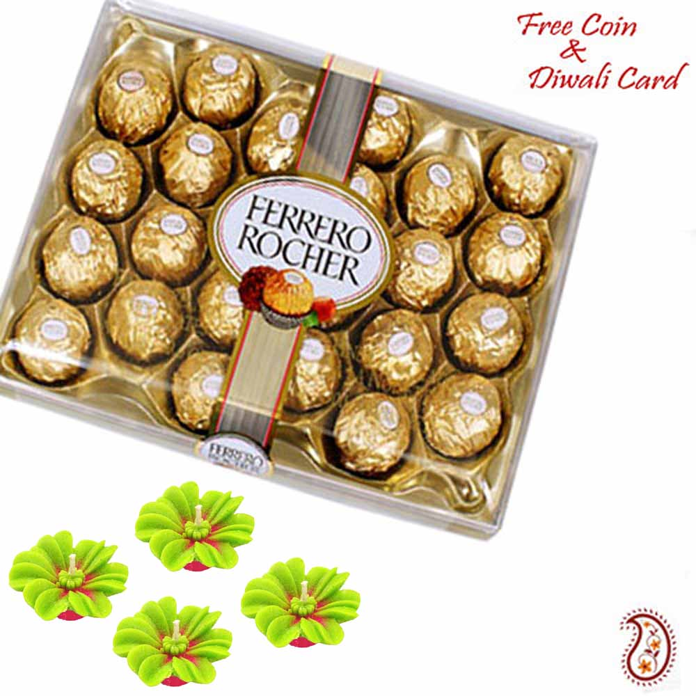 24 Pc Ferrero Rocher Pack for Diwali