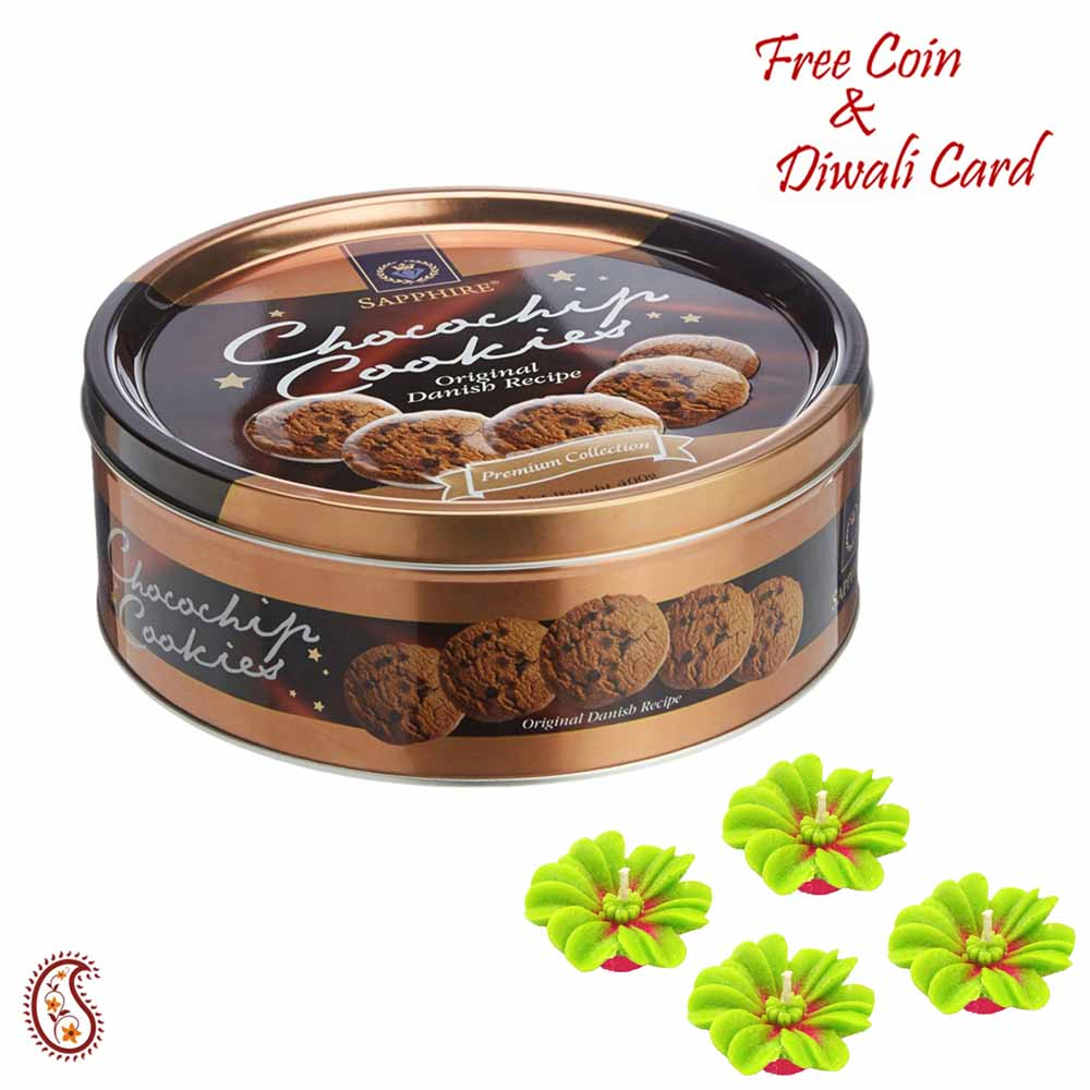 Sapphire Chocochips Cookies Box