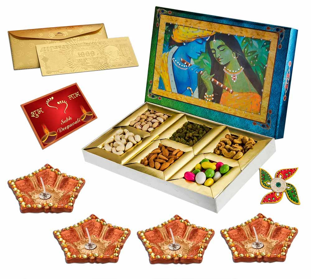 Radha Krishna Dryfruit hamper