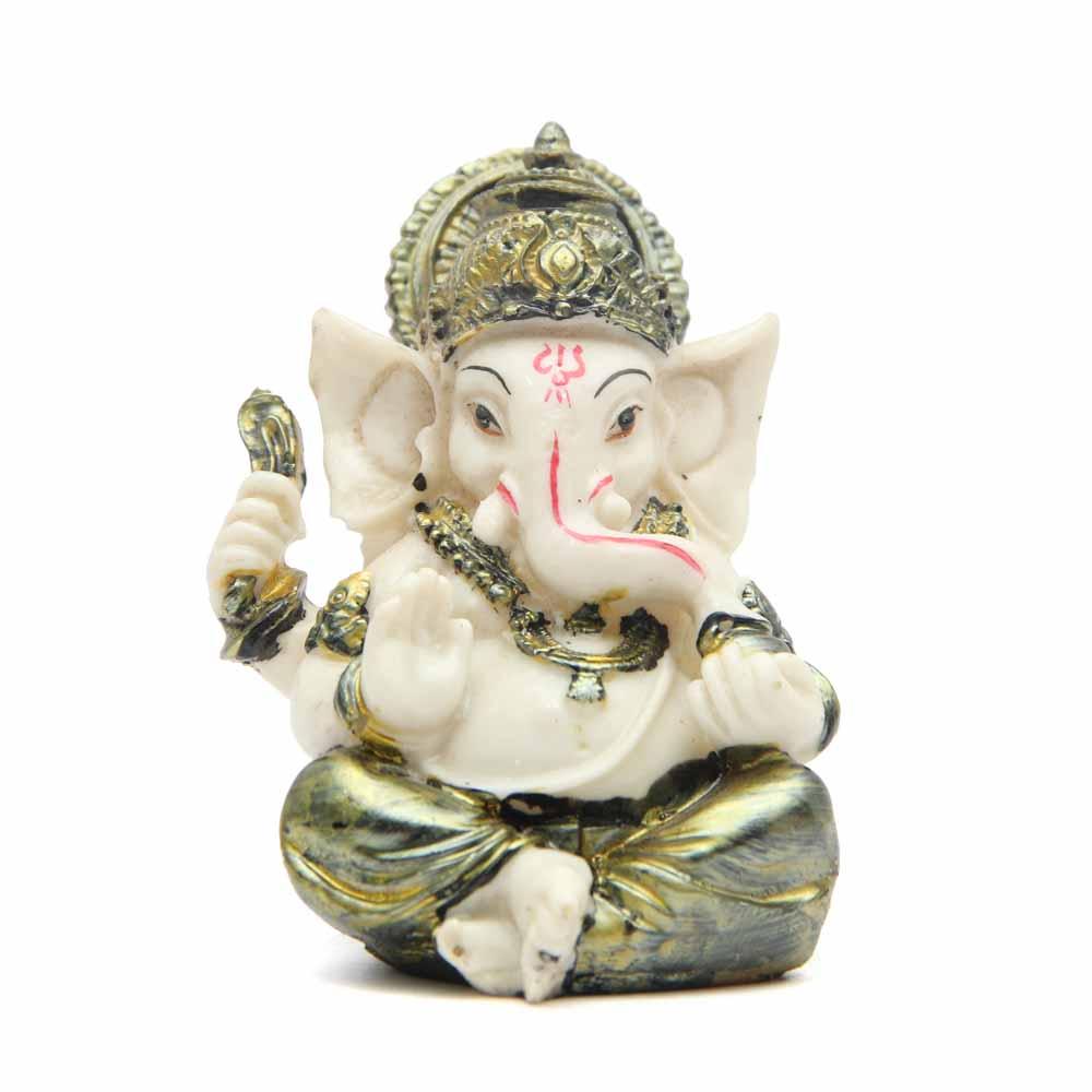 Ganesha idol with Designer T-light