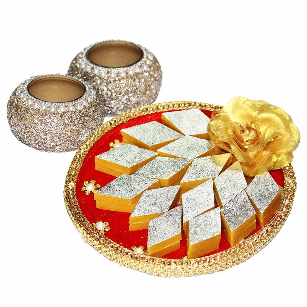 Diwali Delight + Pearl Tea-light.