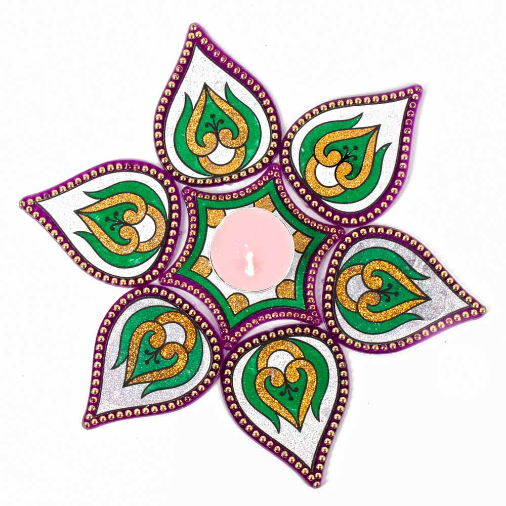 Modak Design Artificial Rangoli