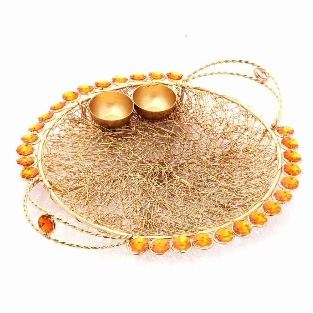 Golden Mesh Thali
