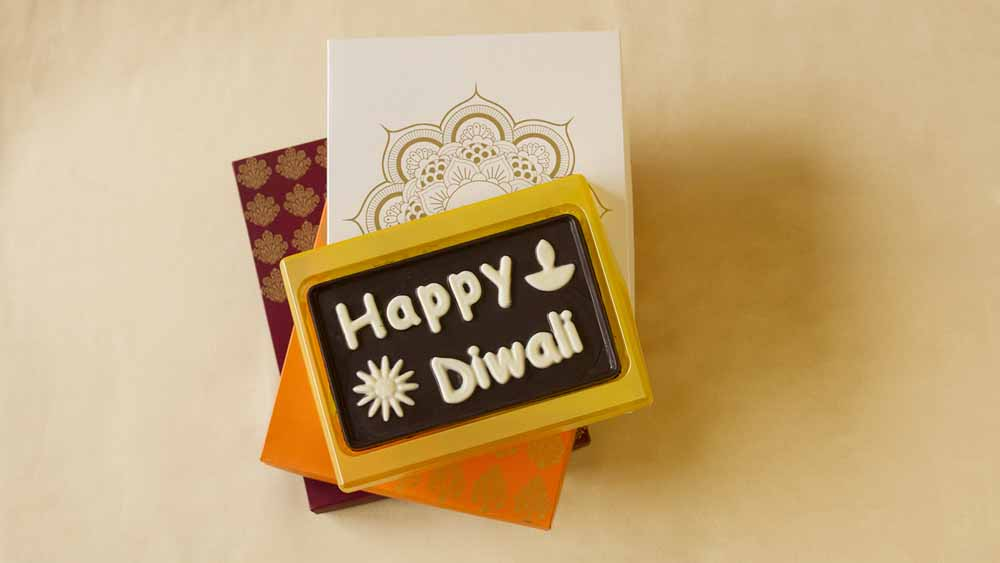 Chocolate & Cookies-Happy Diwali Greeting