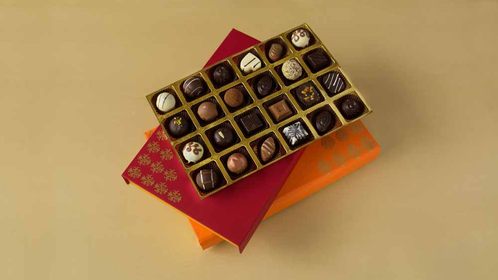 Chocolate & Cookies-Assorted Truffles Diwali Treat