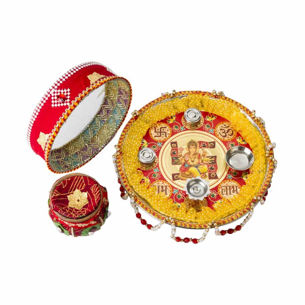 Other Diwali Gifts-Karva Chauth Pooja Thali
