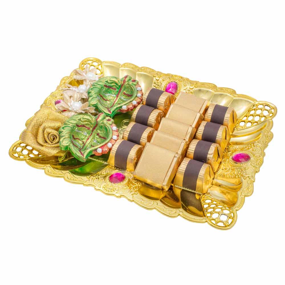 Chocolate & Cookies-Diwali Tray