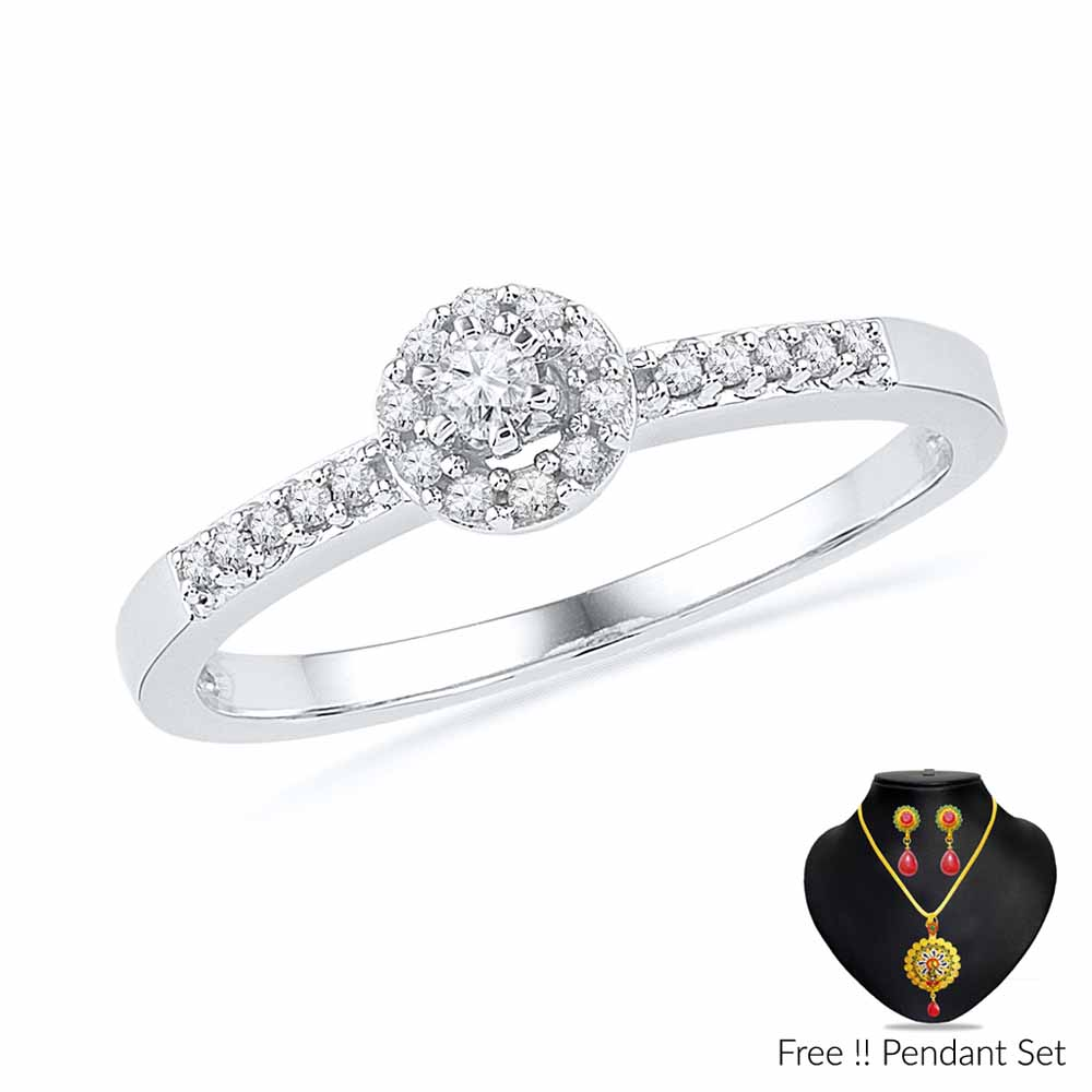 Ruhi Diamond Finger Ring