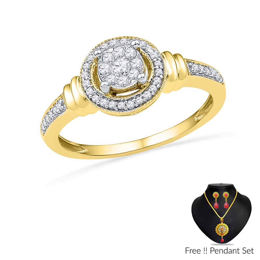 Sakhi Diamond Finger Ring