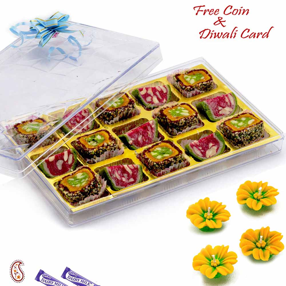 Premium Rimjhim Roll & Kaju Tarbooz Sweets