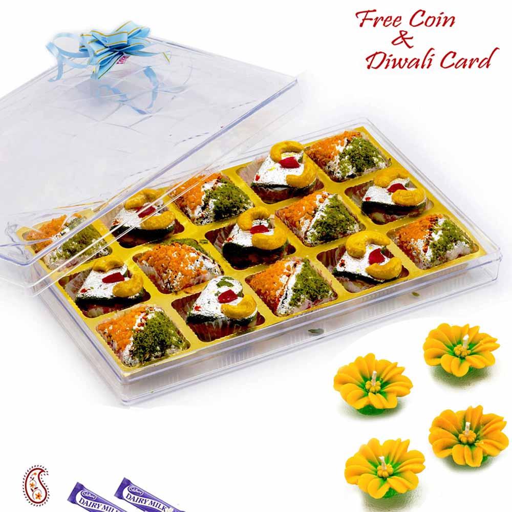 Premium Kaju Pista Heart & Anjeer Kohinoor Sweets