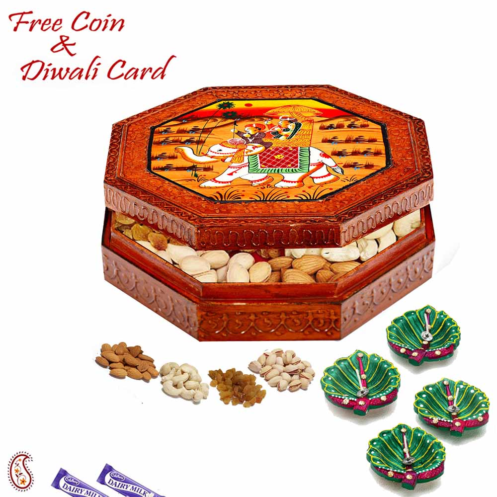 Designer Dryfruit Box for Festive Season