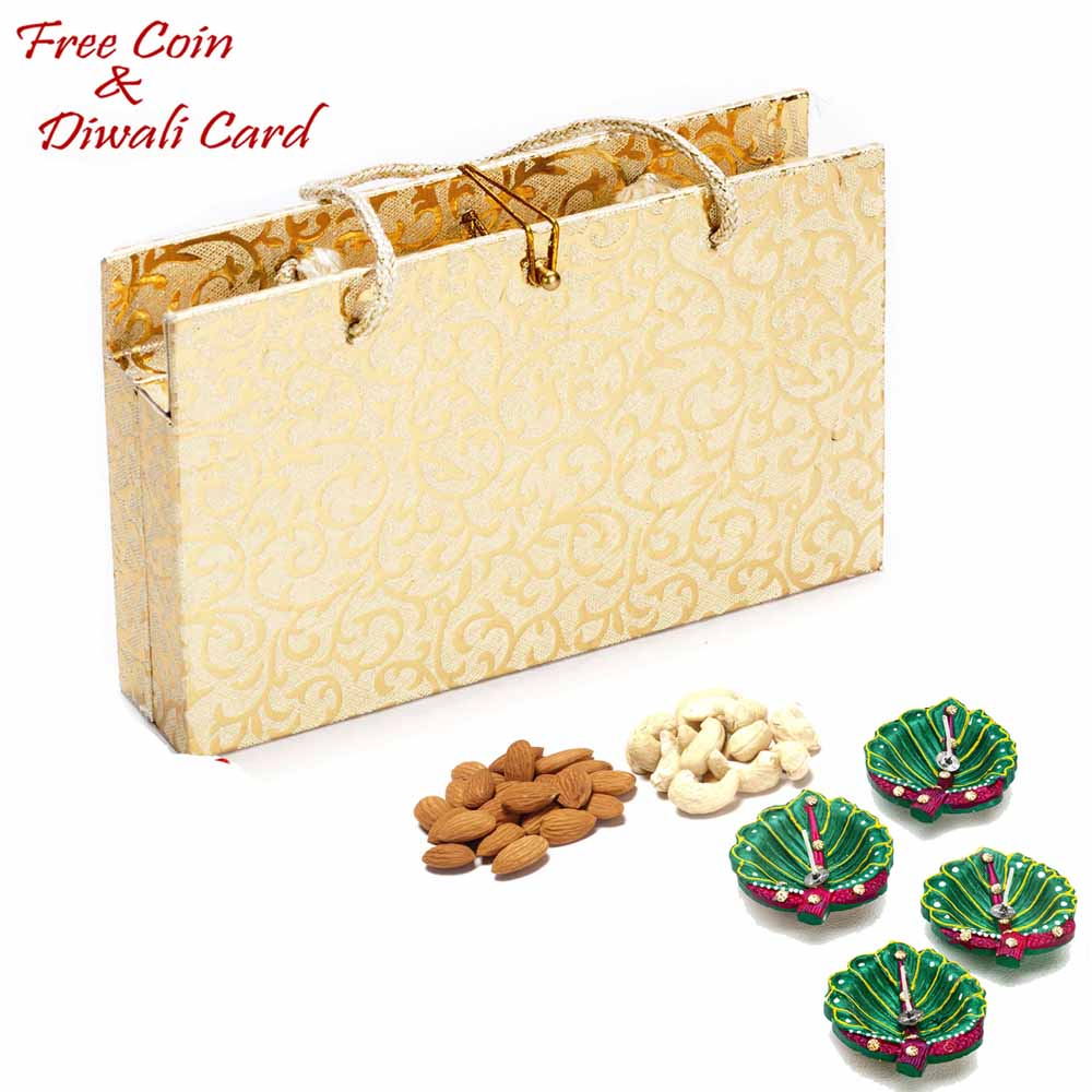 Envelope Style Dryfruit Pack for Festive Season