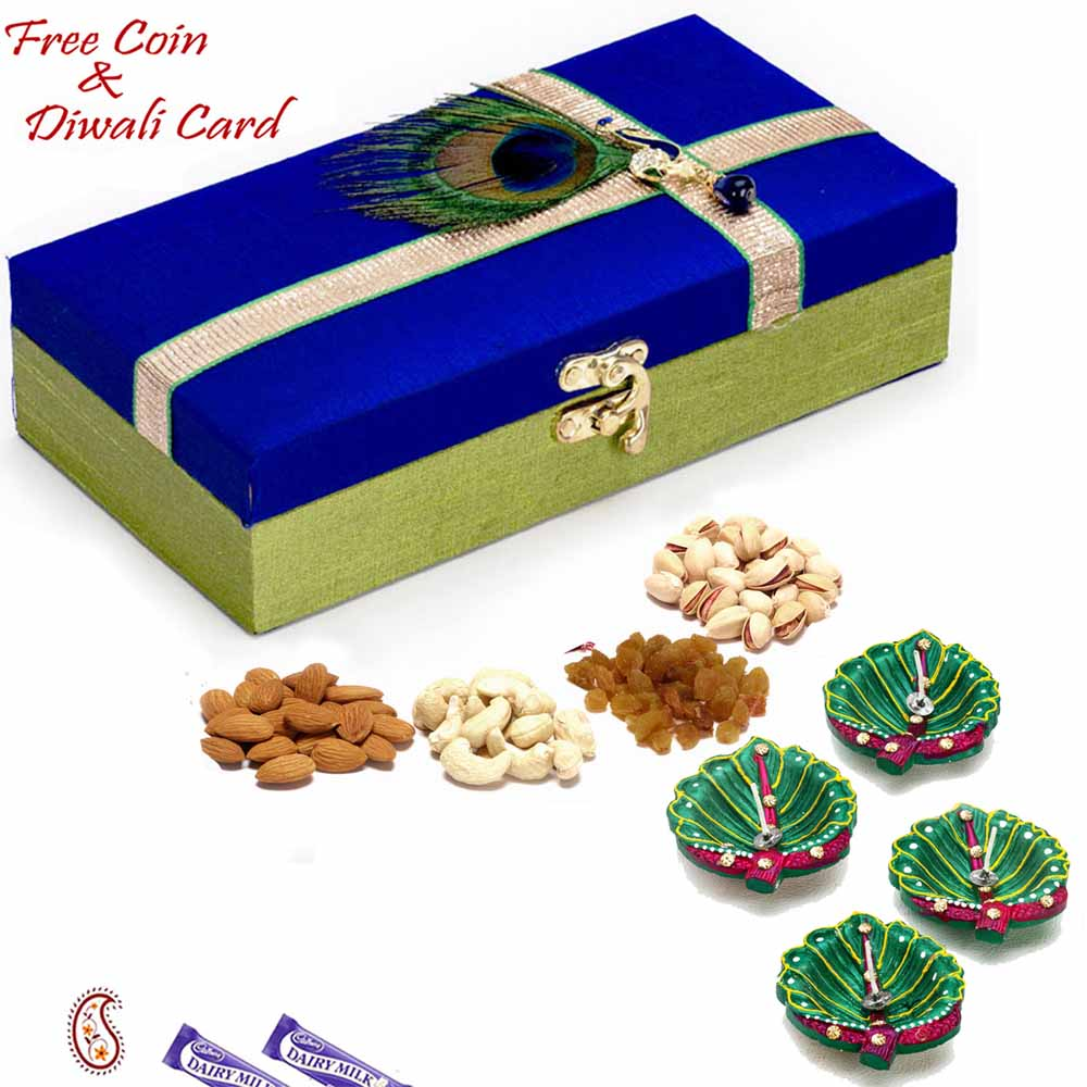 Lock Dryfruit Box for Festive Season