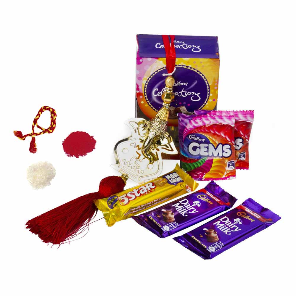 Bhai Dooj Gifts-Ganesha Blessed Bhai Dooj Celebrations