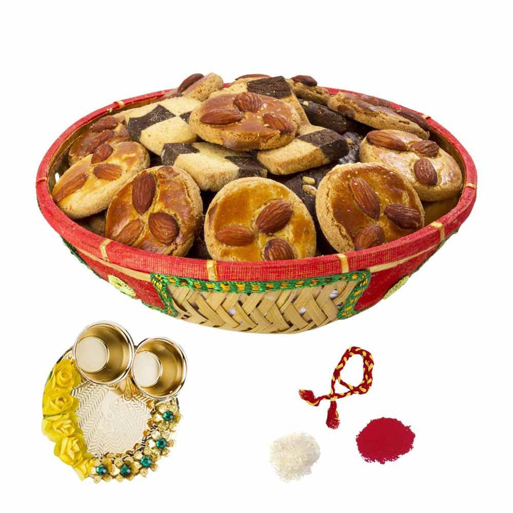 Bikanervala Crunchy cookies Bhai Dooj gifts