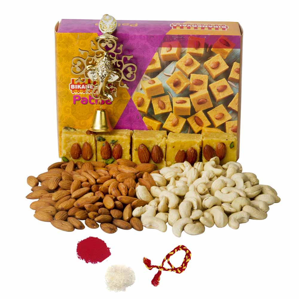 Bikanervala Nutty Patisa Bhai Dooj Hamper
