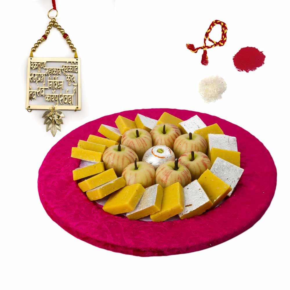 Bhai Dooj Gifts-Exotic Kaju Sweets Bhai Dooj Hamper