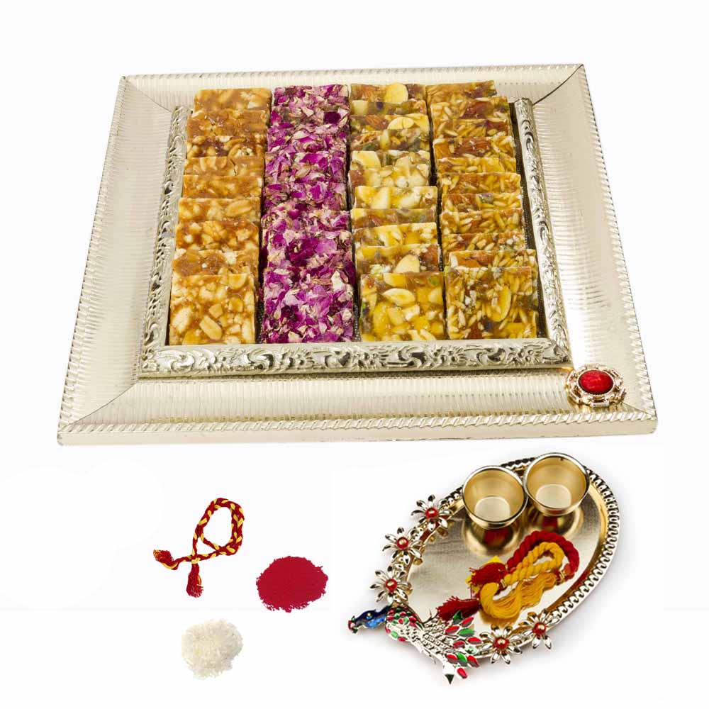 Bikanervala Assorted Chikki mix with Bhai Dooj for 2 brothers