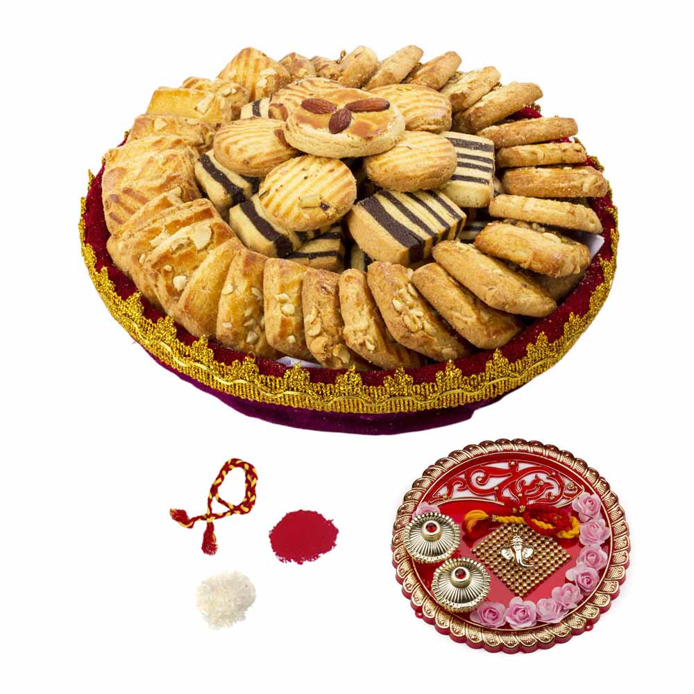 Bikanervala Cookie Indulgence Bhai Dooj Delight for 2 brothers