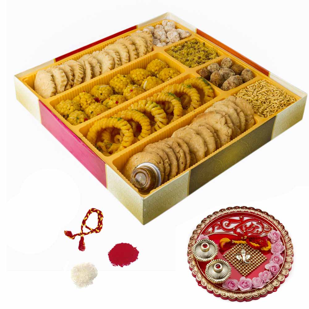 Bikanervala Traditions of India Bhai Dooj Hamper for 2 brothers