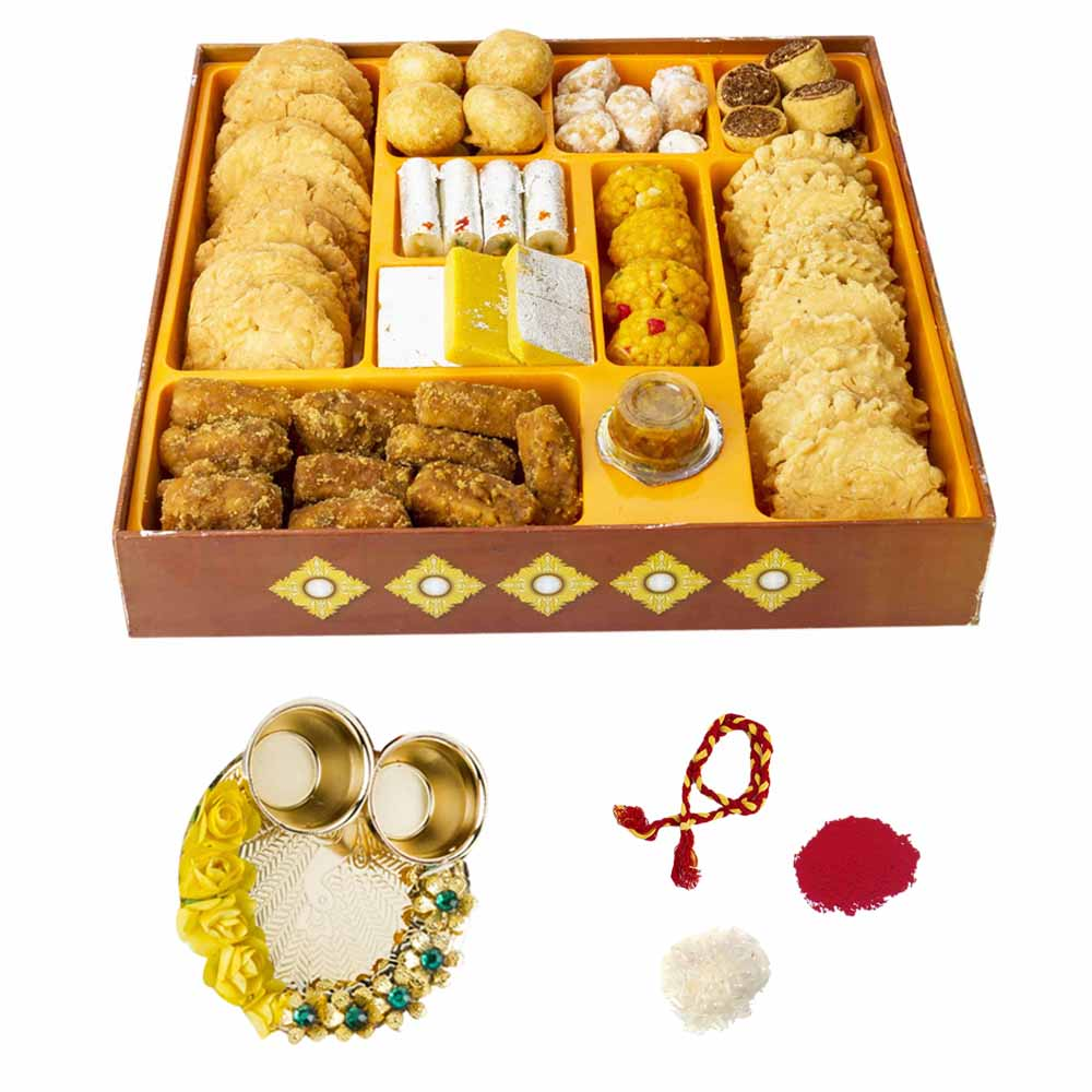 Bhai Dooj Gifts-Bikanervala Taste of India Bhai Dooj Hamper