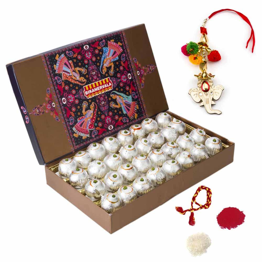 Bhai Dooj Gifts-Bikanervala Kaju Lemon Bhai Dooj Hamper