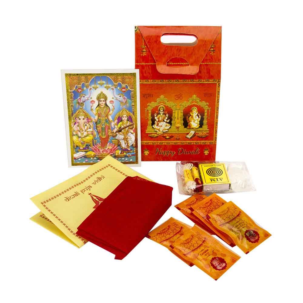 Lakshmi Ganesh Diwali Pooja Kit