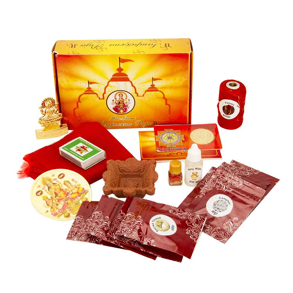 View Ma Lakshmi Sampurna Puja Kit