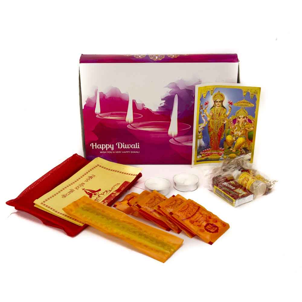 Diwali Greetings Pooja Kit