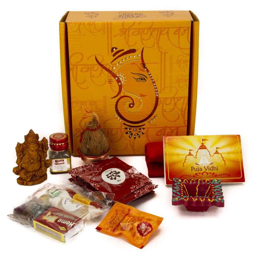 Pooja Thaali-Ganesh Pooja Kit