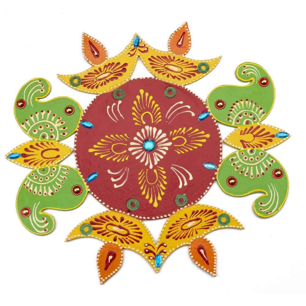 Handpainted Diwali Rangoli