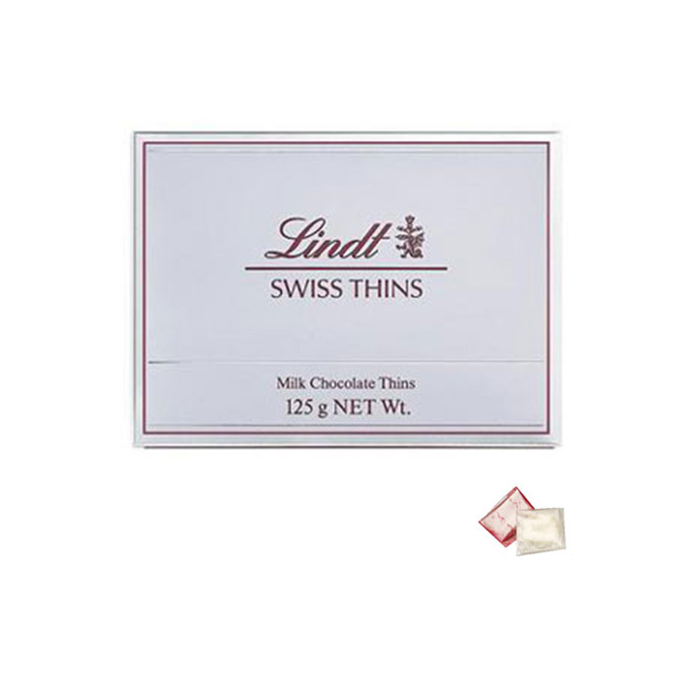 Lindt Swiss Thins Milk Chocolate & Bhaidooj Kit