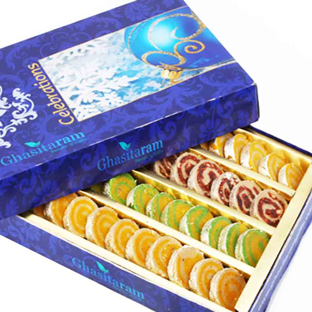 Diwali Gifts Sweets Sugarfree Assorted Moons
