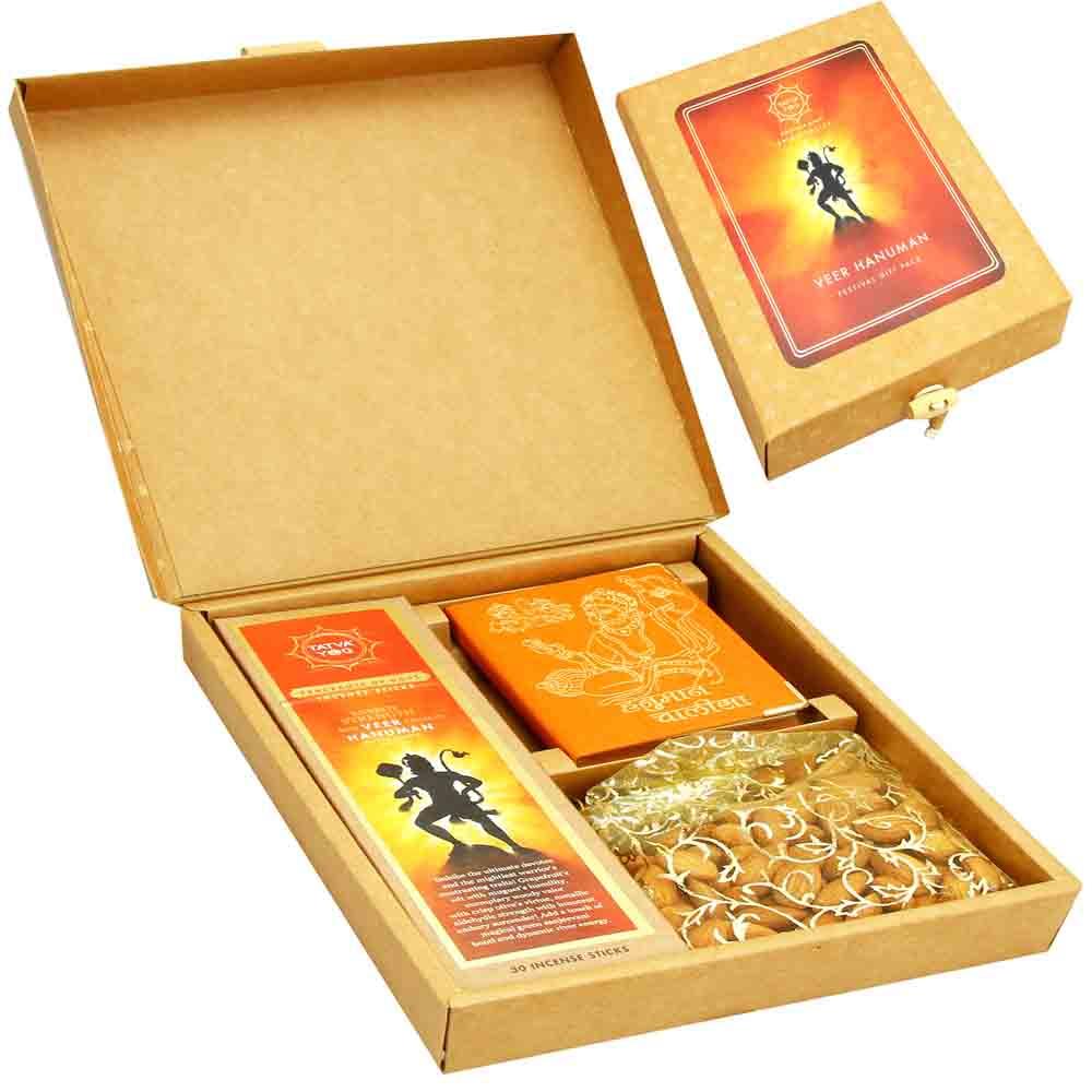 Diwali Gifts-Veer Hanuman Almonds Gift Pack