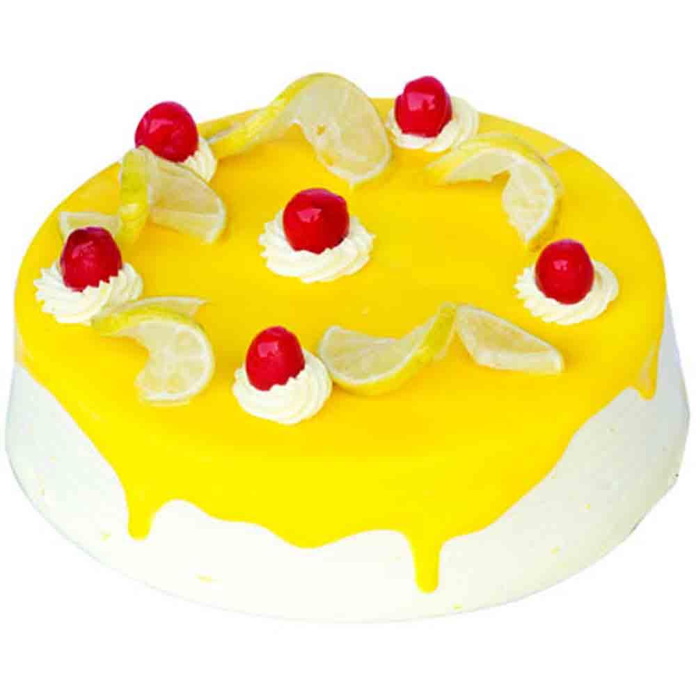Diwali Mithai Boxes-Eggless Lemon Vanilla 1kg - Diwali Gifts