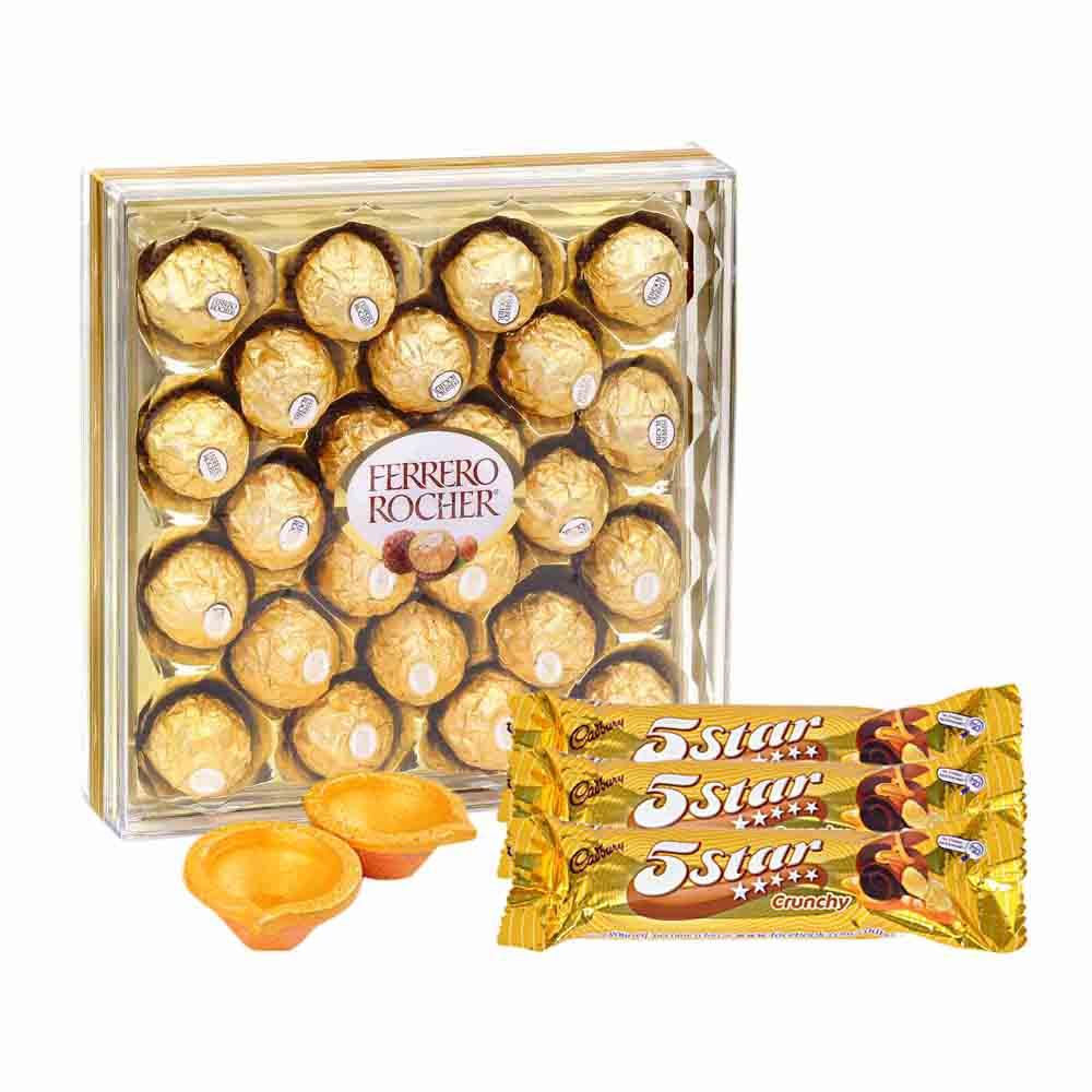 Chocolate & Cookies-Chocolate Fix Hamper - Diwali Gifts