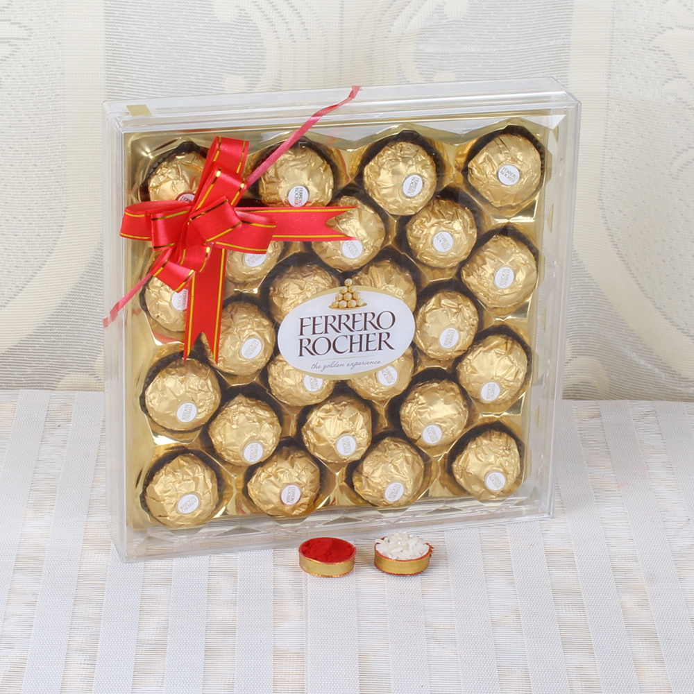 Bhai Dooj Express Delivery of Rocher Chocolates