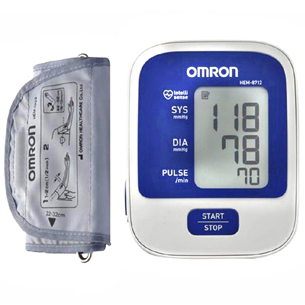 Omron Automatic Digital Blood Pressure Monitor - BP8712