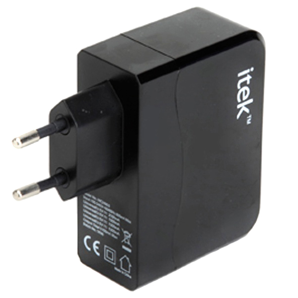itek Four Port USB Wall Adapter