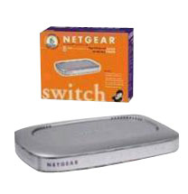 Accessories-Netgear 8-Port 10/100 Mbps Fast Ethernet Switch - FS608V2