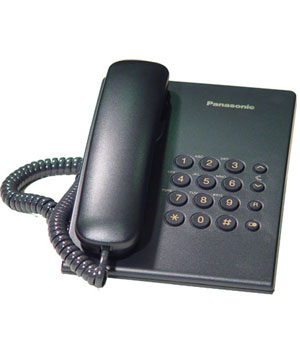 Panasonic Corded Basic Phone - KX -TS500MX