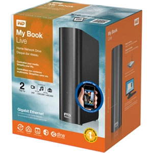 Western Digital Mybook Live 3TB External HDD