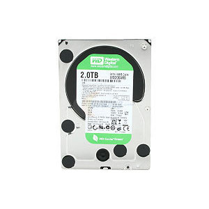 Western Digital SATA Caviar Green 2TB Internal HDD for Desktop