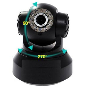 Wireless Wi-Fi IP IR Camera Pan-Tilt Wireless Night Vision Security Camera