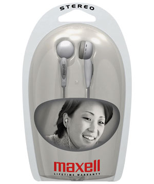 Maxell Ear-Hook Stereo Headphone
