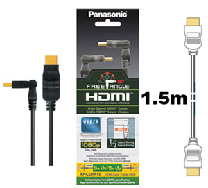 Panasonic HDMI Cable Free Angle