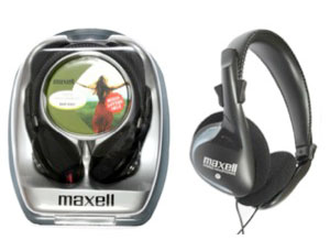 Maxell Lightweight Headphone