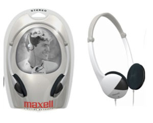 Maxell Stereo Foldable Headphone