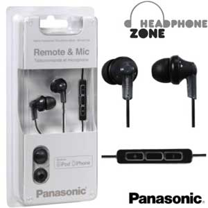 Panasonic Earphone with Mic & iPod Controller